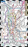 Streetwise London Underground Map - Laminated Map of the London Underground, England: City Plans (Michelin City Plans)