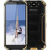 """Blackview BV9500 Télephone Incassable, Ecran FHD+ 5.7"""", 10000mAh Grande Batterie, Charge sans Fil, Cameras 16MP+13MP, 4G Réseau Complet Mondial - 64Go ROM Smartphone Etanche IP69K"""