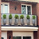 Gärtner Pötschke Balkon-Sichtschutz Pflanztöpfe
