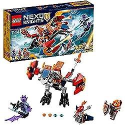 LEGO Nexo Knights - Bot Dragón Bombardero de Macy, Juguete de Construcción con Dragón Robótico y Caballeros (70361)
