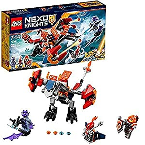 LEGO- Nexo Knights Dragone Sgancia Robot di Macy Costruzioni Piccole Gioco, Multicolore, 70361  LEGO
