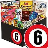6. Jahrestag | Schokolade Geschenk Frauen | INKL DDR Kochbuch | mit Zetti Knusperflocken, Mokka Bohnen und mehr | Schokoladen Box