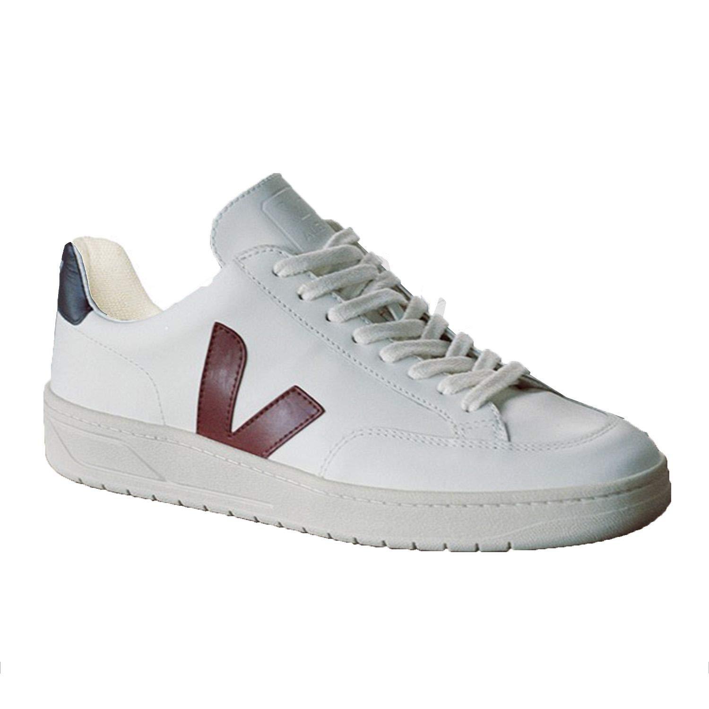 meilleur site web adc85 cf935 VEJA Sneaker Femme et Homme en Cuir Ligne V-12 - XD021955