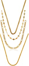 Charms Chain for Men (Golden)(CH-18-19-21-22ef)