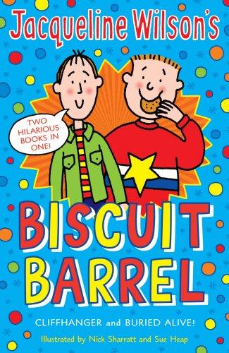Jacqueline Wilson Biscuit Barrel: Cliffhanger , Buried Alive Paperback