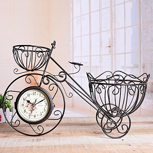 WEILON Kreatives Handwerk Eisen Fahrrad-Jong-kontinentalen QUARZUHREN Stummschalten des pendels Teil Neuesten styles (Standuhr Teile Pendel)