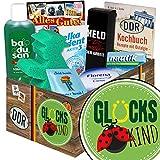 Glückskind | Pflege Box | Geschenkbox | Glückskind | Pflegepaket | Glückskind Geschenkbox | mit Florena Creme, Elka Dent, Badusan und mehr
