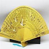 WSZYD cadeau ventilateur de bois de haute qualité ventilateur impression vent chinois avec un ventilateur pliant ventilateur cadeau boîte ventilateur creux