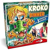 Noris Spiele 606011756 Kroko Dinner, Party- und Geschicklichkeitsspiel