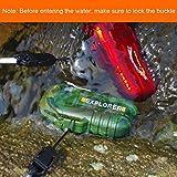 Qimaoo USB Elektronisches Feuerzeug Wasserdicht Zigarettenanzünder Zigarettenfeuerzeug mit kreuz Doppelt lichtbogen Test