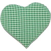 Kirschkernkissen Herz | ca. 30x25cm grün-weiß | Wärmekissen | Körnerkissen | Ein charmantes Geschenk preisvergleich bei billige-tabletten.eu