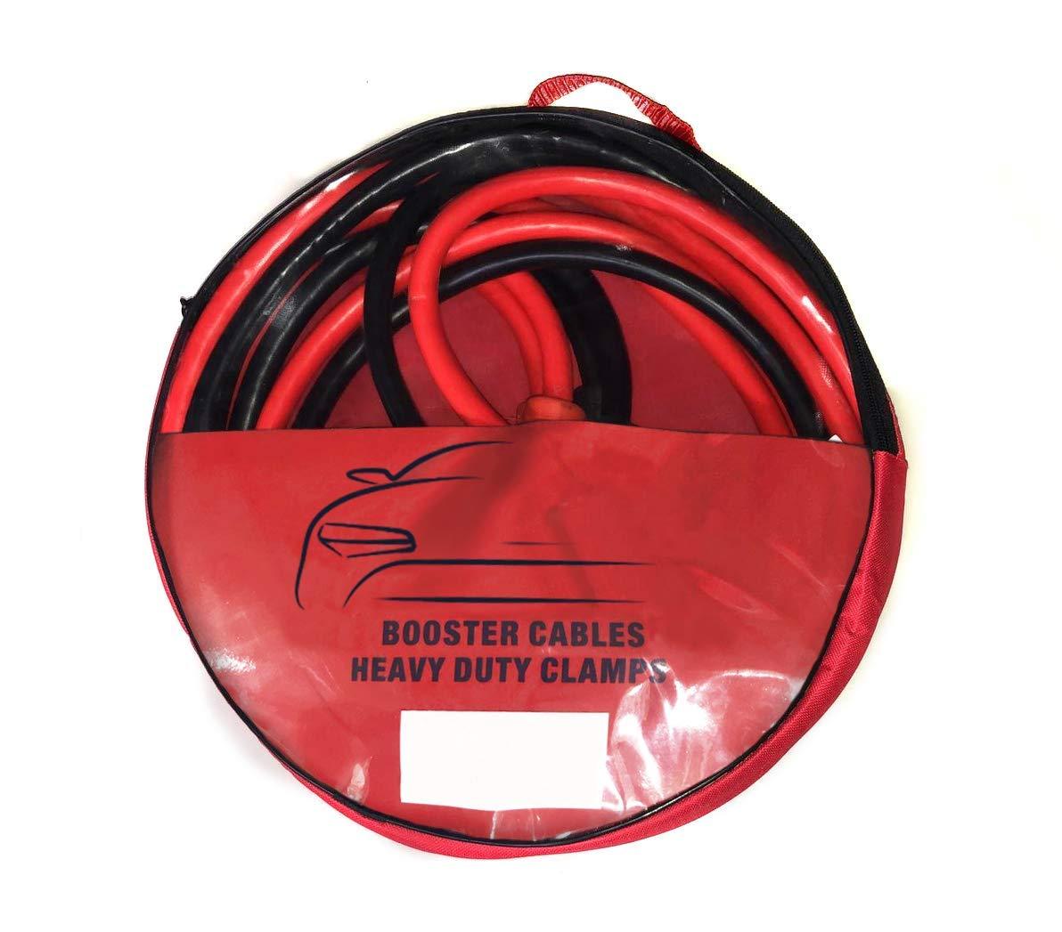 Asc 5m 2000A Cables Arranque,Cables Pasacorriente,Resistente Pinzas, para Gasolina & Diésel Incluye Bolsa/Estuche de Almacenamiento