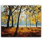 STJK$BMJW Hand Gemalte Öl Home Dekoration Malerei Kunst Landschaft Ölfarbe Bilder 50 X 60 Cm (Nur Leinwand)