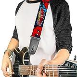 Boucle vers le bas Amazing Spiderman Sangle de guitare