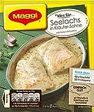 Maggi fix und frisch für Seelachs in Kräuter Sahne, 18er Pack (18 x 33 g)