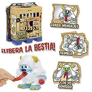 Crate Creatures - Libera la Bestia Peluche Interactivo Multicolor con Luz y Sonidos - referencia surtida (Giochi Preziosi CRE00000)