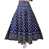 #5: Silver Organisation Women's Cotton Skirt (SK_5183, Multicolour, Free Size)