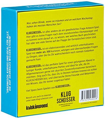 KLUGSCHEISSER - das ultimative Spiel für alle, die auf (fast) alles eine Antwort haben... - 2