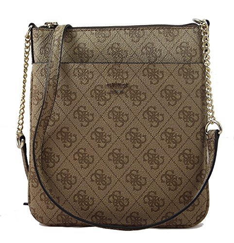 GUESS Joleen Mini Crossbody Brown (Guess Damen Mini)