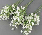 10 pcs wholesale fake flower simulation real natural babysbreath artificial gypsophila paniculata flowers for table decoration wedding bouquets