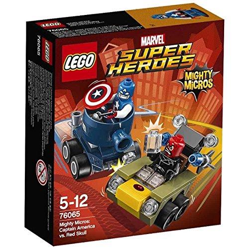 LEGO Marvel Super Heroes Mighty Micros: Captain America vs. Schädel Rot--Spiele Bau (Comics, Genre, Multi)