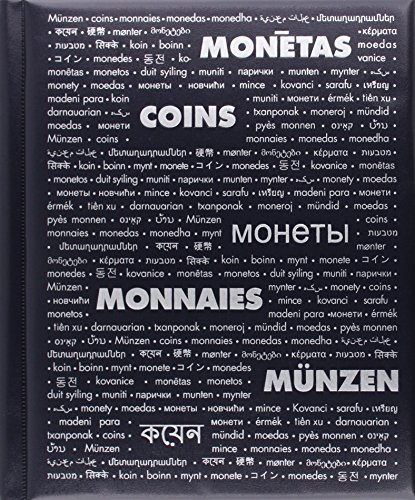 Album avec 10 recharges pour chacune 20 monnaies sous étui carton LEUCHTTURM