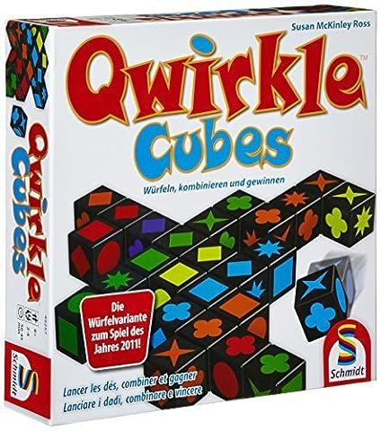 Qwirkle Cubes - Qwirkle Cubes [German Version] by Schmidt