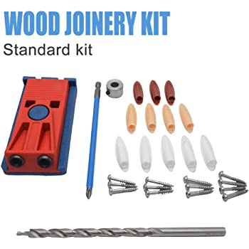 105418 Wood Pocket Jig Kit Woodworking Tool for Screw Drill