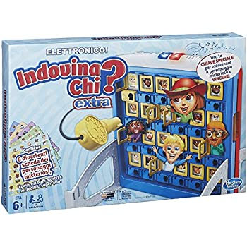 Hasbro - Extra Unlocked Indovina Chi? Gioco da Tavolo Elettronico