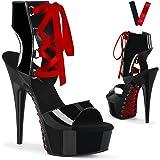 Pleaser Delight 600 14, Zapatos de Punta Descubierta Mujer