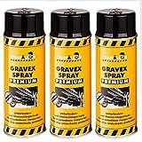 Chamäleon Premium UBS 3 x 500ml Spray SCHWARZ Anti GRAVEX Schutz UNTERBODENSCHUTZ