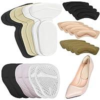 Liner con 12 paia di tacchi, AIFUDA Cuscinetti per tacchi alti Tacco alto Inserti di cuscini sull'avampiede per scarpe…