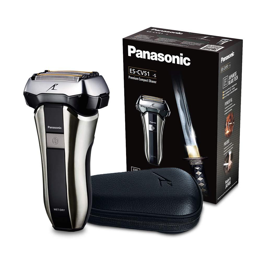 Panasonic ES-CV51 (S803) Folienrasierer mit Reiseetui, Nass- und Trockenrasur