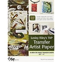 Lesley Riley's Tap Transfer Artist Paper 18-Sheet Pack