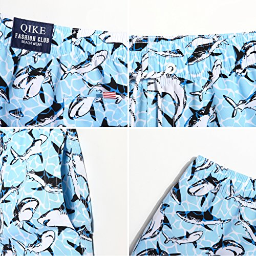 MaaMgic Herren Badeshort QMA221-Shark