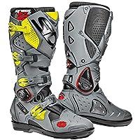 Sidi Crossfire SRS 2 Giallo Fluo/grigio moto Boot