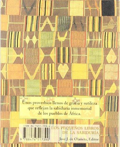 Sabiduria africana (Peq. Libros De La Sabiduria) por Mariama Hima