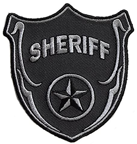 ecusson sheriff us usa 8x7,5 cm special force police policier ny