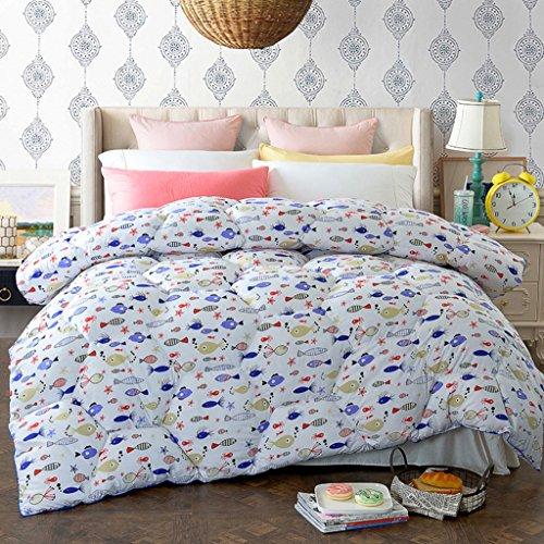 MMM Printemps et automne Quilt Hiver plus épais Garder un étudiant chaleureux Quilts Literie douce Quilt Individual Core ( taille : 150*200cm(2kg) )