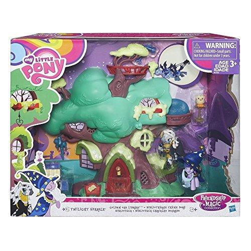 y B5366EU4 - FIM Spielset Twilight Sparkle's Bücherei, Spielset (Little Pony Spielzeug)