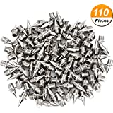 Hicarer 110 Piece Steel Track And Cross Country Spikes Replacement Silvery 3 8 Inch