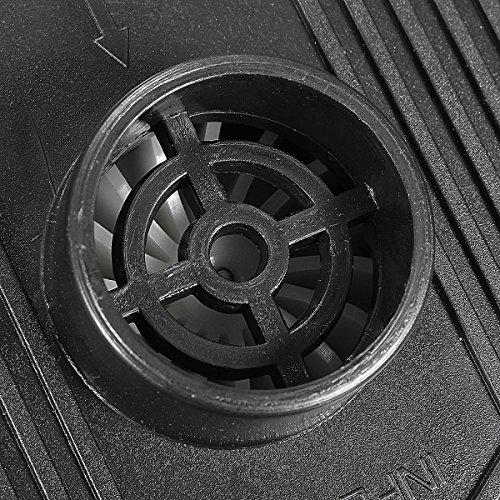 Pumpe Elektropumpe, 2016 GOCHANGE DC12V/AC230V Elektrische Luftpumpe inkl. 3 Aufsätze für Luftmatratzen, Schlauchboote, Gästebetten, aufblasbare Schwimmtiere oder Camping - Automatisches und schnelles Auf- und Abpumpen,12*10*8cm, mit 230 V Netzteil und 12 V Anschlusskabel -