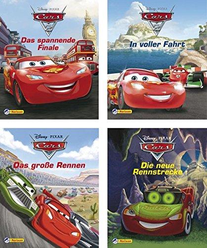Preisvergleich Produktbild Nelson Mini-Bücher: 4er Disney Cars 1-4