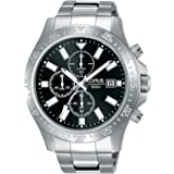 Lorus Casual Watch For Men - Round, Stainless Steel, RM397DX9