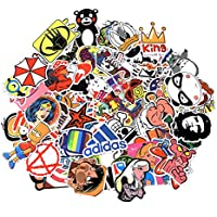 Sticker Pack 100-Pcs,Neuleben Sticker Decals Vinyls for Laptop,Kids,Cars,Motorcycle,Bicycle,Skateboard Luggage,Bumper Stickers Hippie Decals bomb Waterproof … (sticker-3)