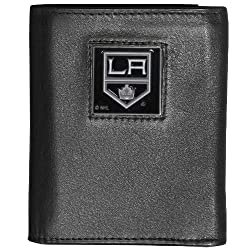 NHL Los Angeles Kings Executive Genuine Leather Tri-Fold Wallet