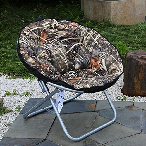 TTYY Moon Chair 2PCS Chaise pliante confortable intérieure et extérieure de mode (s'il vous plaît laissez un message si vous avez besoin d'une couleur différente) , 001