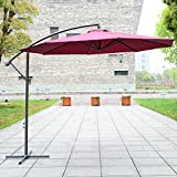 Fascinating Amazoncouk Parasols  Parasols Canopies  Shade Garden  Outdoors With Licious Outsunny  M Garden Patio Parasol Sun Shade Banana Hanging Rattan Set  Umbrella Cantilever  Red Wine With Delightful Garden Statutes Also Dobbies Garden Tools In Addition Easter Garden Ideas For Kids And Love Your Garden Series  As Well As St Pauls Church Covent Garden Additionally Wellington Gardens Apartments Rotterdam Ny From Amazoncouk With   Licious Amazoncouk Parasols  Parasols Canopies  Shade Garden  Outdoors With Delightful Outsunny  M Garden Patio Parasol Sun Shade Banana Hanging Rattan Set  Umbrella Cantilever  Red Wine And Fascinating Garden Statutes Also Dobbies Garden Tools In Addition Easter Garden Ideas For Kids From Amazoncouk