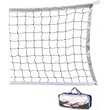 Volleyball Net 32 FT x 3 FT Beach Volleyball Net Portable Official Standard Size Indoor Outdoor Sports Training Equipment/Wit