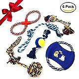 f5754f9c1c42a5 Giocattoli della corda del cane ANICOR colore corda durevole masticare  giocattoli cotone corda pulire i denti ...